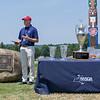 NYSGA's Andrew Hickey announcing winners