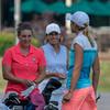 Jenna Hoecker, Tammy Blyth & Lauren Cupp - the mid-am final pairing