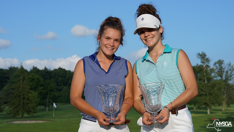 Samantha & Amanda Gaffney (Brookfield CC) - 2018 NYS Women's Amateur Four-Ball Champions