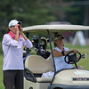 Teresa Cleland (Bellevue CC) with Carina Watkins in background