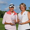 Teresa Cleland (Bellevue CC) & Carina Wakins (Beaver Meadows GC) - 2018 NYS Women's Sr. Amateur Four-Ball Champions
