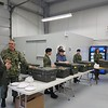 Connaught experience - Officers and Cadets at Connaught offer a hay box dinner to our members<br /> Experience Connauhgt - les officeirs et els cadets a Connaught offrent une belle experience a nos membres