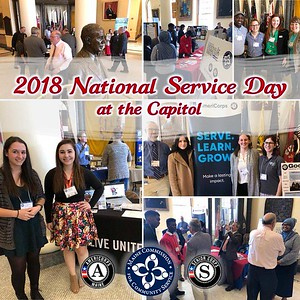 2018 National Service Day at the Capitol