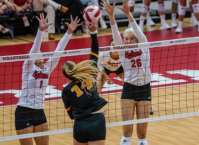 AARON BECKMAN/NEBRASKA STOCK PHOTOGRAPHY  2018-10-03  VBC Nebraska vs Iowa