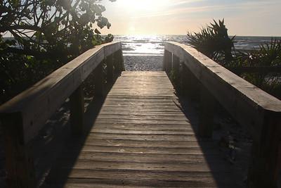 Sunset on the Gulf...
