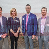(left to right) Blaine Jackson, CEO at New Dominion and Panel Moderator - Jane Mekik, Realtor/Broker at Cottingham Chalk Hayes - Chrys Kanos, Managing Director at Northwestern Mutual - and Brian Swilling, Financial Advisor at Waddell & Reed.