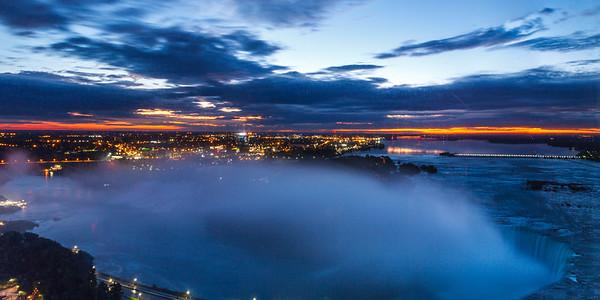 Sunrise Niagara Falls