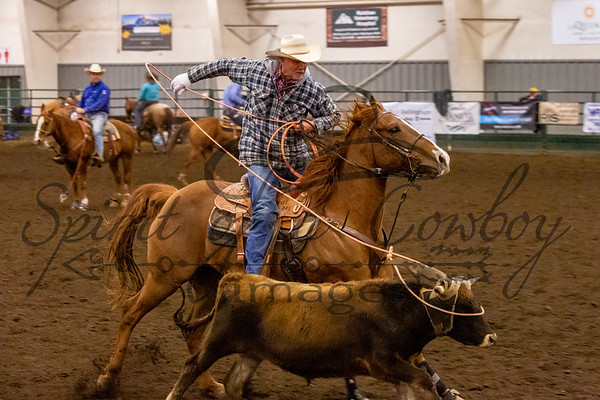 NWTE Challenge Saturday Roping