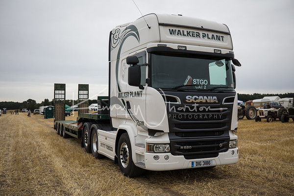 DIG 3186 Scania R520 with low loader - Walker Plant
