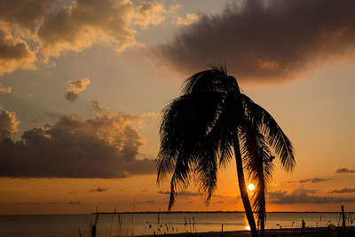DA077,DN,Sunset on the beach