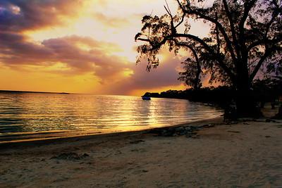 DA101,DT, Jamaican sunset (Negril, Jamaica)