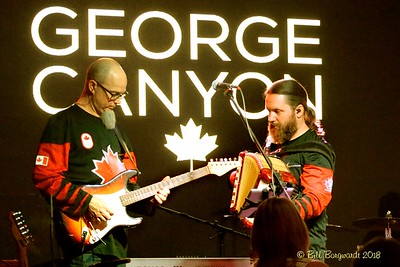 Jay Buettner & Mike Little - George Canyon - Yellowhead Casino 2018 172