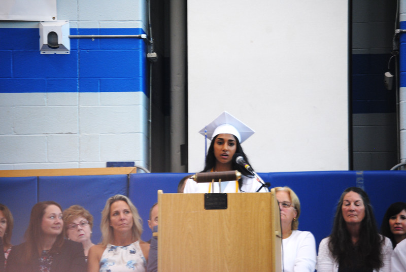 Leah McDonald - Oneida Daily Dispatch The Oneida High School Class of 2018 Commencement ceremonies at the high school on Saturday, June 23, 2018.