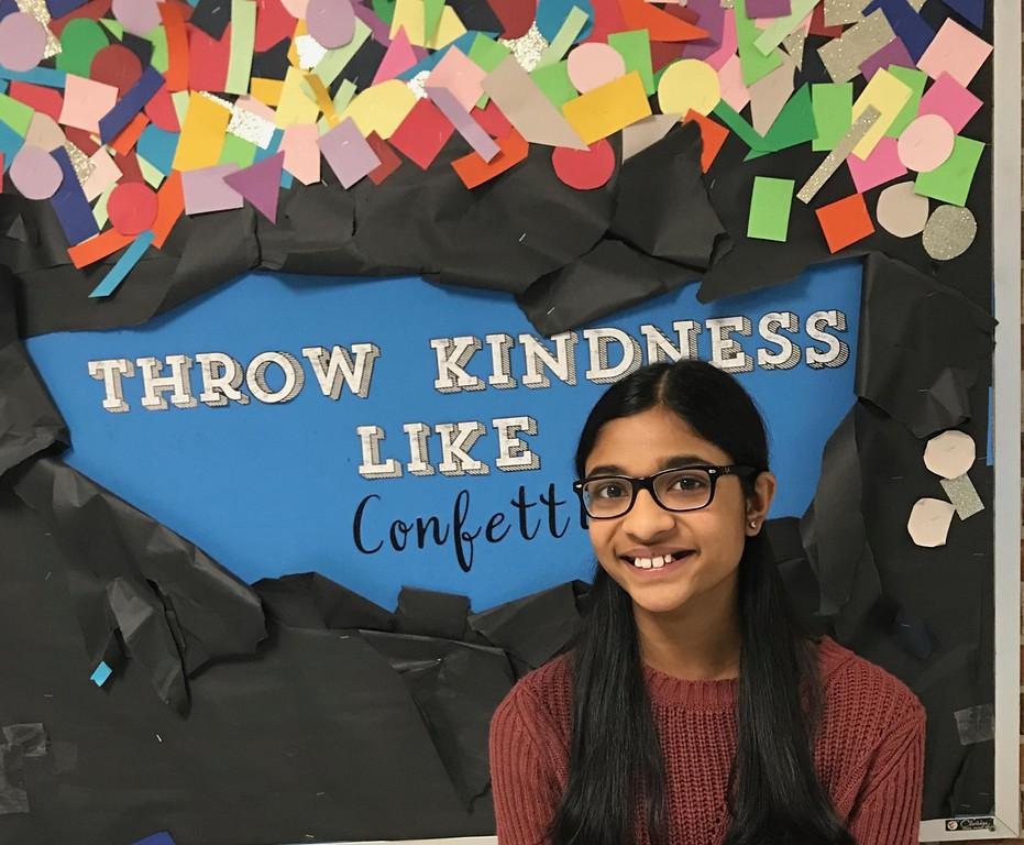 . Akshara Karthik, Orchard Lake Middle School