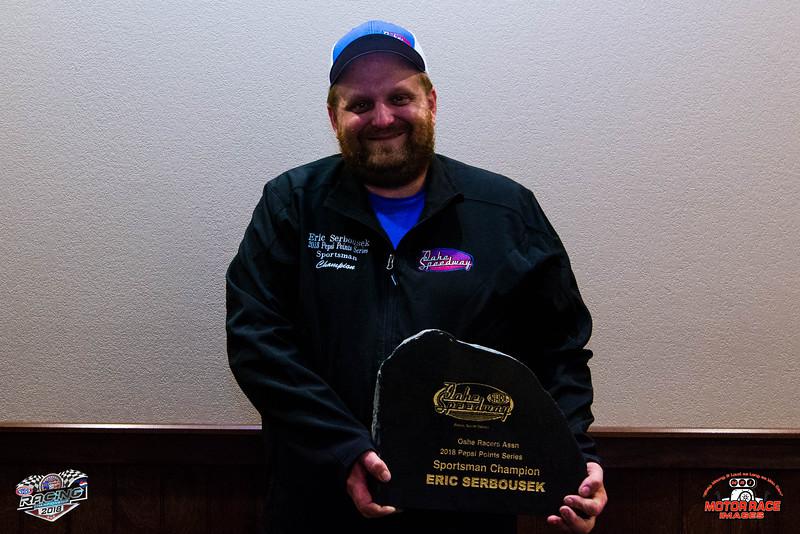 Eric Serbousek, Pepsi Sportsman Champion