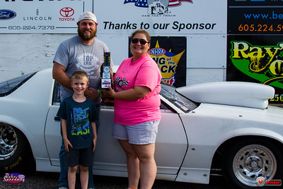 Cory Giessinger, Watertown, SD - Winner - Dale's Repair Super Pro Pepsi Points Race #9