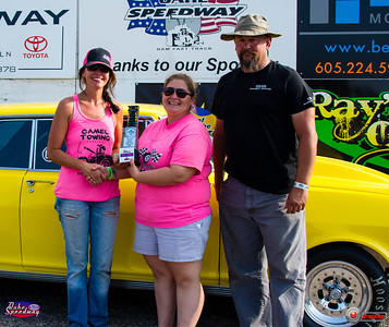Callie Iversen, Pierre, SD - Winner - Watty's Garage Pro ET Pepsi Points Race #9