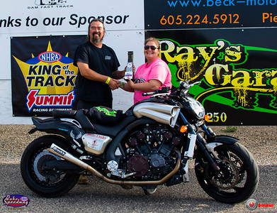 George Brown, Rapid City, SD - Winner -  2018 SA Transportation / Ray's Garage Bike/Sled Run for the Money