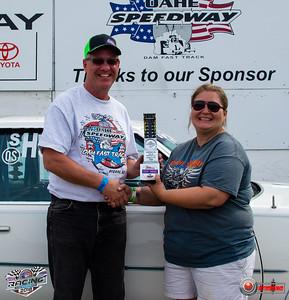 Mike Haraldson, Pierre, SD- Winner - Fearless Grain Marketing Sportsman Pepsi Points Race #10