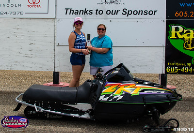 Kimberlee Geuther, Fort Pierre, SD - Winner - SA Transportation Bike/Sled