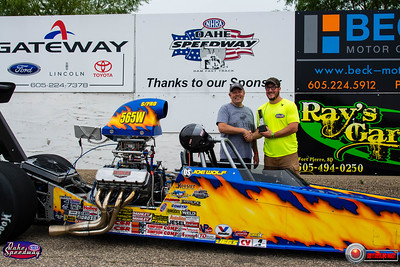 Joe Wolf, Pierre, SD - R/U -Oahe Speedway Dale's Repair Super Pro Pepsi Points Race #7