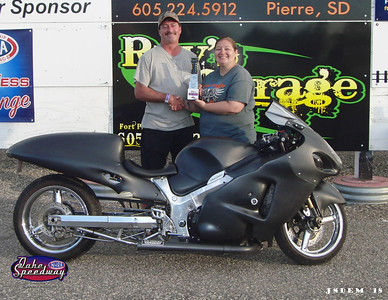 Dusty Kracht, Pierre, SD - Winner - Bike/Sled Shootout