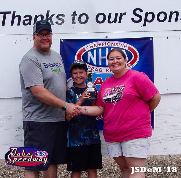 Jack Beutler, Watertown, SD - Runner Up - Watty's Garage Pro ET Pepsi Points Race #4