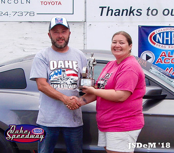 Chris Odde, Aberdeen, SD - Fearless Grain Marketing Sportsman Pepsi Points Race #4 & 2018 NHRA All Access Challenge Sportsman Champion