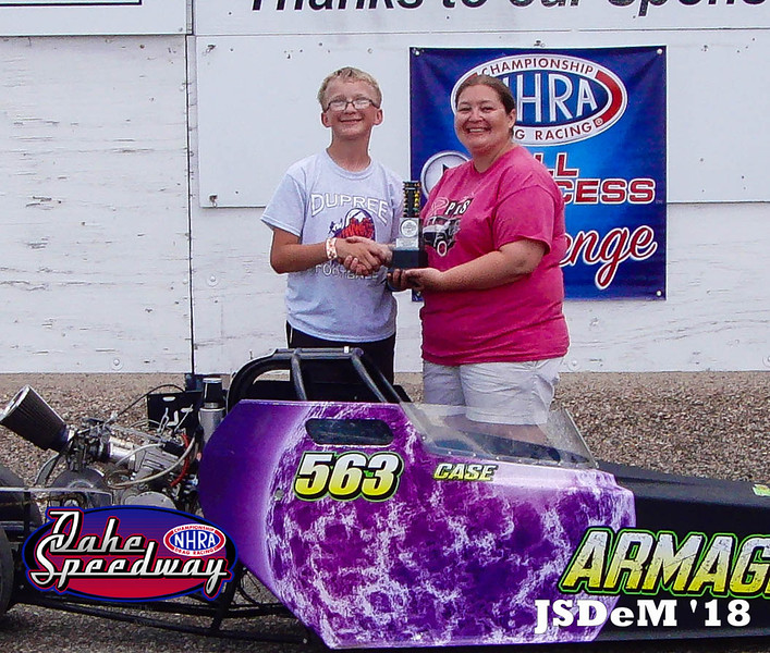 Case DePoy, Lantry, SD - Runner Up - Aberdeen Wings Junior Minor Pepsi Points Race #4