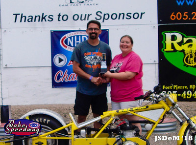 Ray Horsley, Pierre, SD - Runner Up - SA Transportation Bike/Sled Pepsi Points Race #4