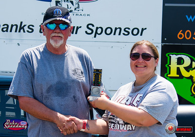 Rocky Gabel, Valley City, ND - R/U - Watty's Garage Pro ET Pepsi Points Race #5