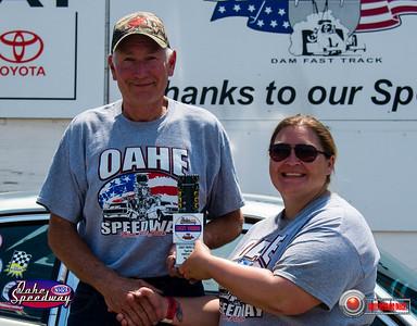 Duane Soper, Gettysburg, SD - Winner - Oahe Speedway Street Trophy Pepsi Points Race #5