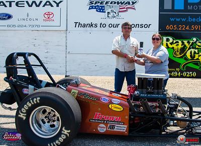 John Scott DeMots, Lebanon, SD - Winner - Dale's Repair Super Pro Pepsi Points Race #5