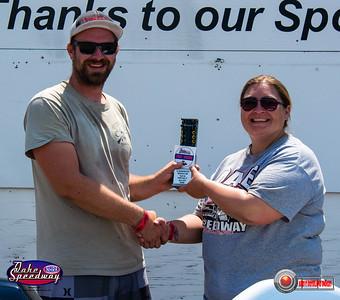 Mike Braley, Pierre, SD - Winner - SA Transportation Bike/Sled Pepsi Points Race #5