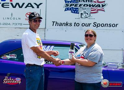 Tom Harms, Valentine, NE - Winner - Watty's Garage Pro ET Pepsi Points Race #5