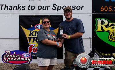 Jessi Horsley, Pierre, SD - R/U -  Oahe Speedway Bike/Sled Shootout