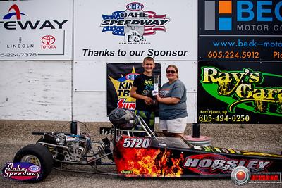 Kylen Horsley, Pierre, SD - Winner - Oahe Speedway  Junior Shootout