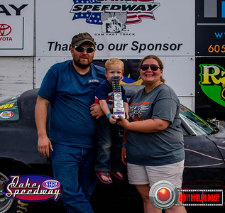Eric Serbousek, Pierre,, SD - Winner - Oahe Speedway Trophy Shootout