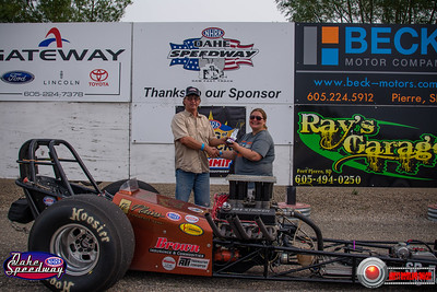 John Scott DeMots, Lebanon, SD - Winner - Oahe Speedwaty Box/No Box Shootout
