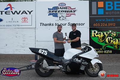 Mike Braley, Pierre, SD - Winner - Bike/Sled Shootout