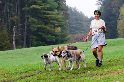 Meredith Liben with Milo, Will and Brook are part of Team Liben 8th Annual Lucy Mac 5K9 race on Sunday, Oct. 7. Nancy Nutile-McMenemy photograph.