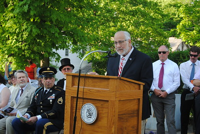 Leah McDonald - Oneida Daily Dispatch The city of Oneida holds a Memorial Day ceremony and parade on Friday, May 25, 2018.