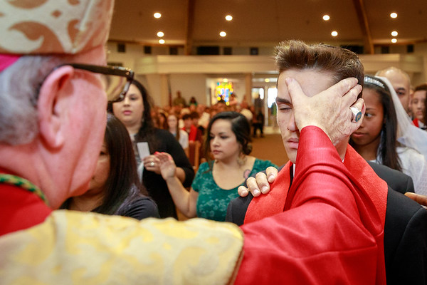 2018 Anointing Photos OLG