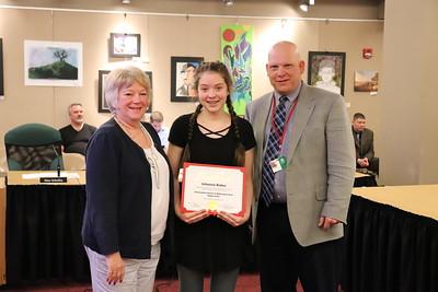 Johanna Baker | Eighth Grade | Williamsport Area Middle School