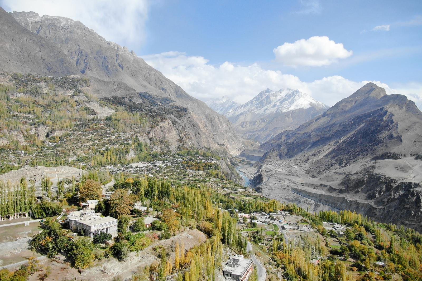 罕萨流域巴基斯坦