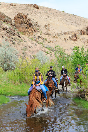 Trail Riders at Succor Creek