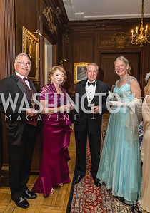Bob Donnelly, Susan Divers, Gary and Candy Ridgway, 2018 Viennese Ball, Nov 10 2018, Elyse Cosgrove.ARW