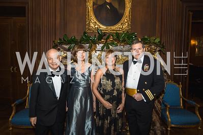 Julian Josephs, Celia Josephs, Deidre Casey, Bill Casey, 2018 Viennese Ball, Nov 10 2018, Elyse Cosgrove