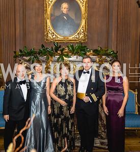 Julian Josephs, Celia Josephs, Deidre Casey, Bill Casey, Maria Cantas, 2018 Viennese Ball, Nov 10 2018, Elyse Cosgrove