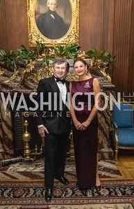 Karl Woelflein, Maria Contos, 2018 Viennese Ball, Nov 10 2018, Elyse Cosgrove.ARW